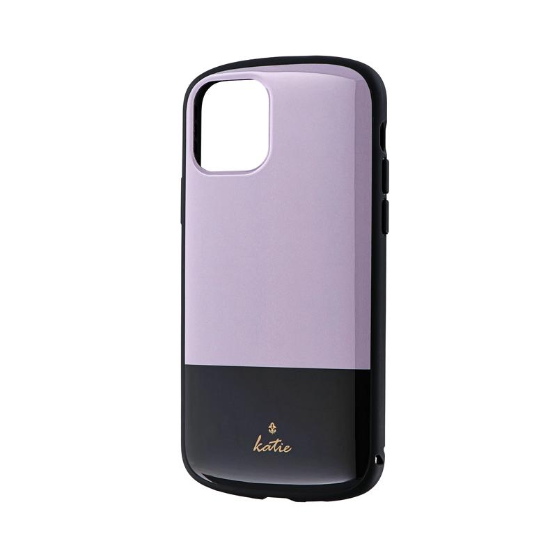 iPhone 11 Pro 超軽量・極薄・耐衝撃ハイブリッドケース「PALLET Katie」 ツートングレージュ