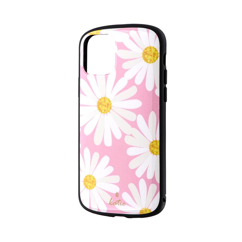 iPhone 11 Pro 超軽量・極薄・耐衝撃ハイブリッドケース「PALLET Katie」 マーガレットピンク