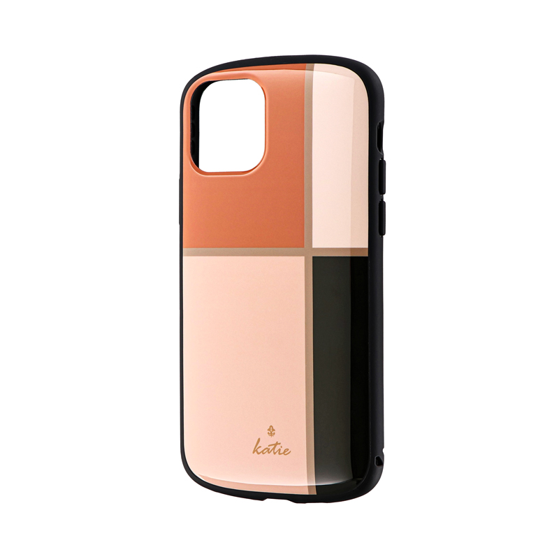 iPhone 11 Pro 超軽量・極薄・耐衝撃ハイブリッドケース「PALLET Katie」 エレガントピンク