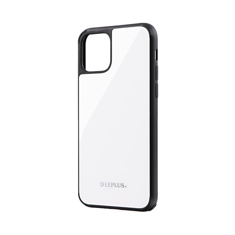 iPhone 11 Pro 背面ガラスシェルケース「SHELL GLASS」 ホワイト