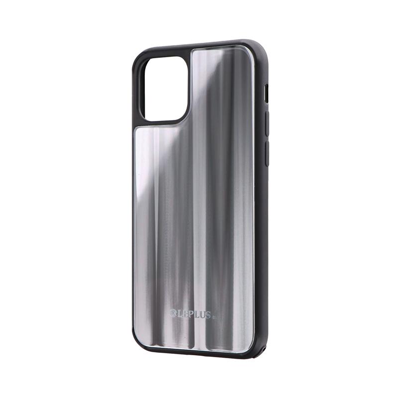 iPhone 11 Pro 背面ガラスシェルケース「SHELL GLASS」 シルバー