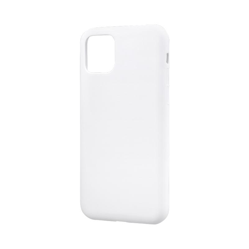 iPhone 11 Pro シンプルソフトケース「SMOOTH」 ホワイト