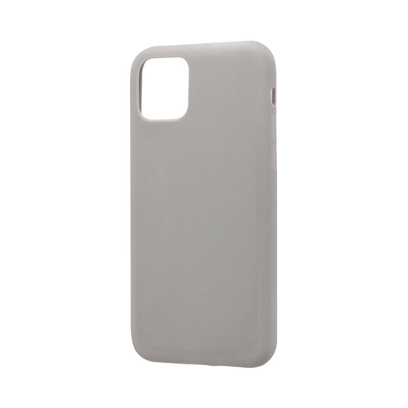 iPhone 11 Pro シンプルソフトケース「SMOOTH」 ライトグレー