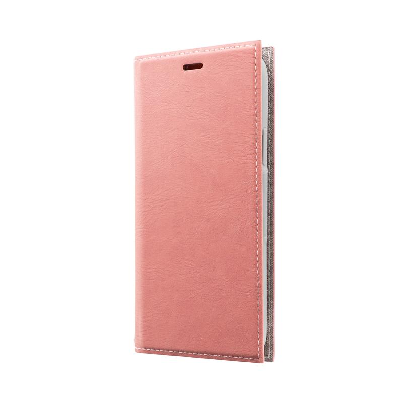 iPhone 11 Pro 薄型PUレザーフラップケース「PRIME」 ピンク