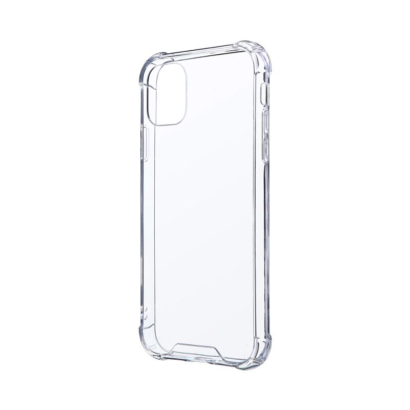 iPhone 11 耐傷・耐衝撃ハイブリッドケース「CLEAR TOUGH」 クリア