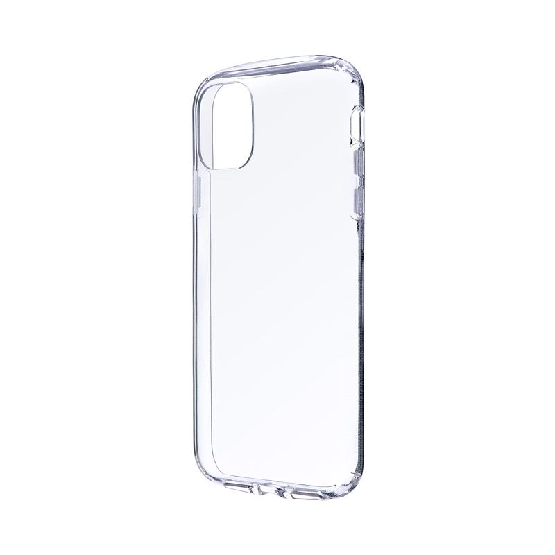 iPhone 11 耐衝撃ソフトケース「CLEAR ROUND」 クリア