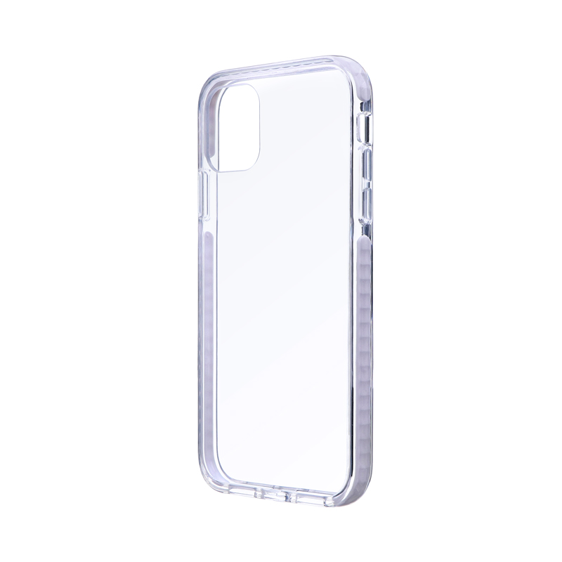 iPhone 11 耐衝撃3種ハイブリッドケース「CLEAR STRONG TOUGH」 ホワイト