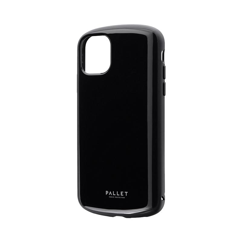 iPhone 11 超軽量・極薄・耐衝撃ハイブリッドケース「PALLET AIR」 ブラック