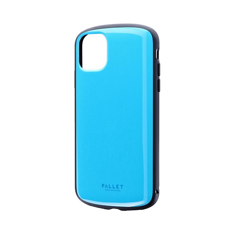 iPhone 11 超軽量・極薄・耐衝撃ハイブリッドケース「PALLET AIR」 スカイブルー
