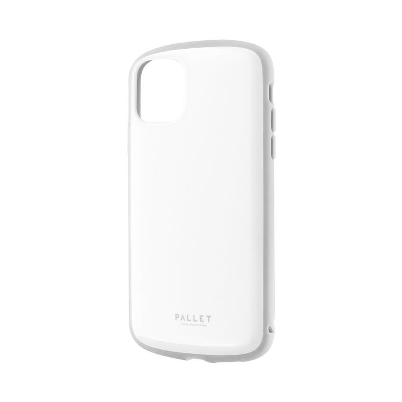 iPhone 11 超軽量・極薄・耐衝撃ハイブリッドケース「PALLET AIR」 ホワイトグレー