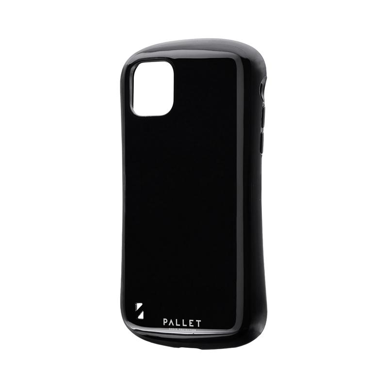 iPhone 11 耐衝撃ハイブリッドケース「PALLET」 ブラック