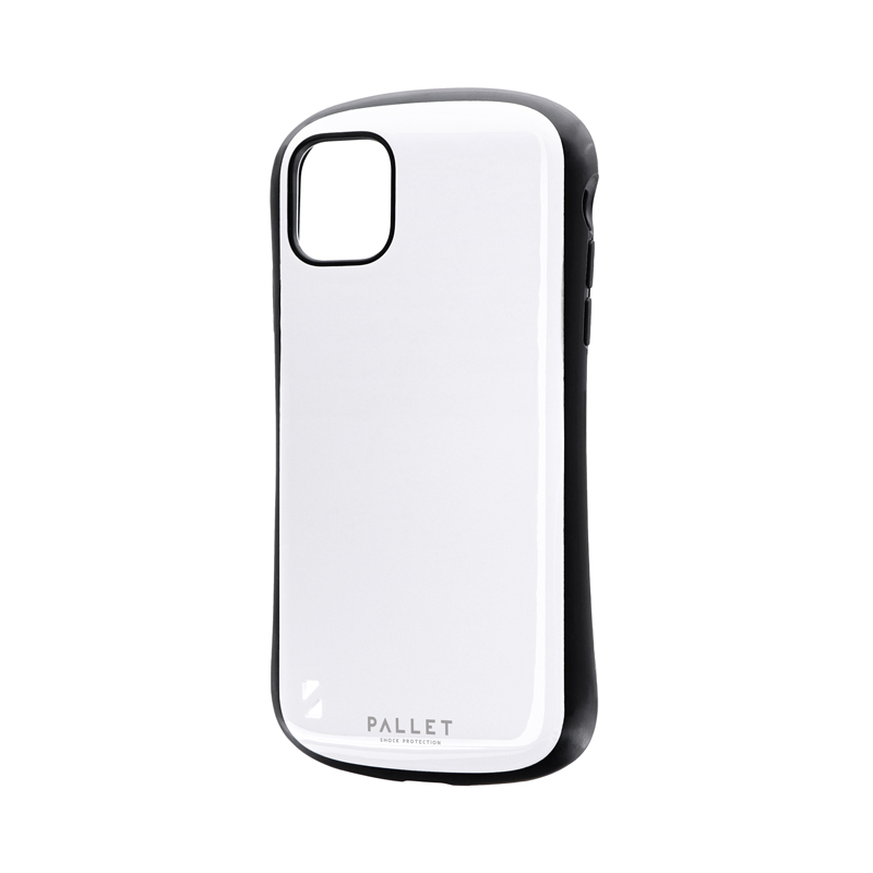 iPhone 11 耐衝撃ハイブリッドケース「PALLET」 ホワイト