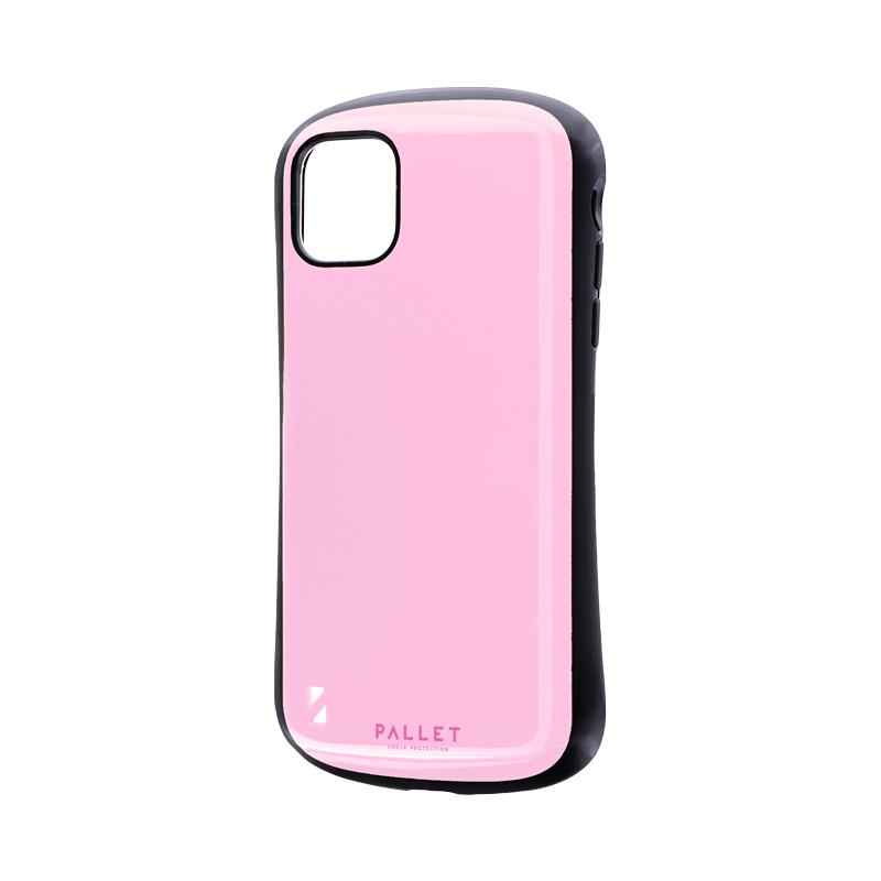 iPhone 11 耐衝撃ハイブリッドケース「PALLET」 ピンク