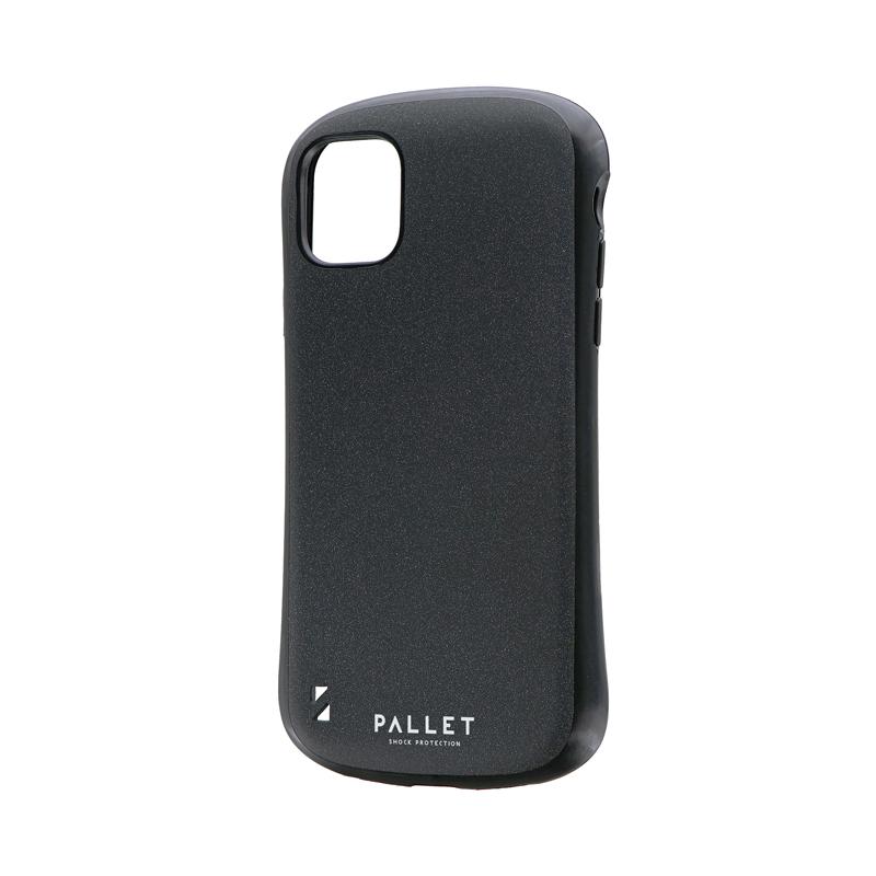 iPhone 11 超軽量・極薄・耐衝撃ハイブリッドケース「PALLET STEEL」 ダークグレー