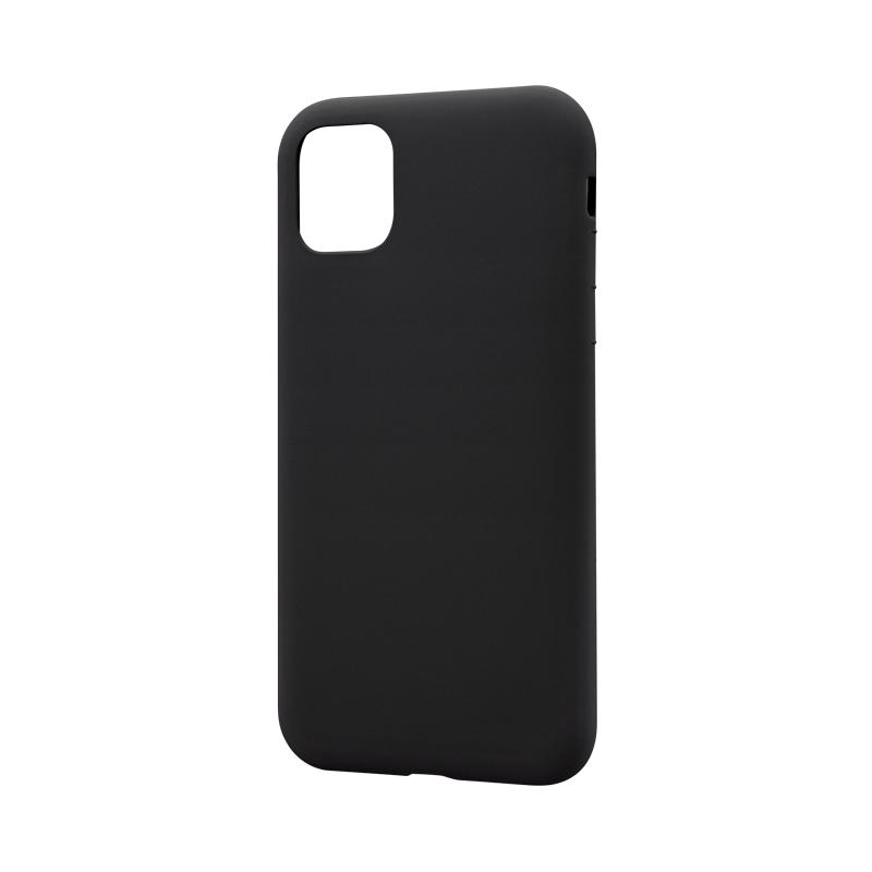 iPhone 11 シンプルソフトケース「SMOOTH」 ブラック