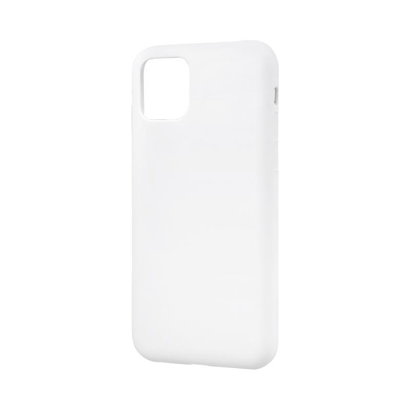 iPhone 11 シンプルソフトケース「SMOOTH」 ホワイト