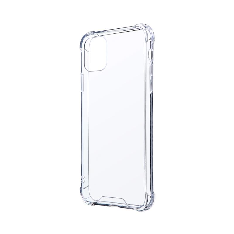 iPhone 11 Pro Max 耐傷・耐衝撃ハイブリッドケース「CLEAR TOUGH」 クリア