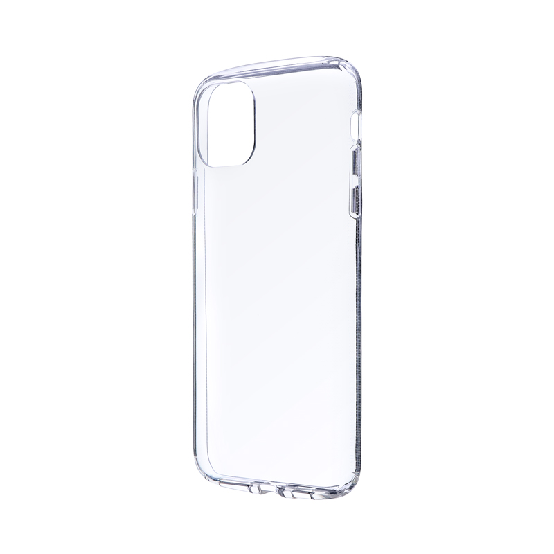 iPhone 11 Pro Max 耐衝撃ソフトケース「CLEAR ROUND」 クリア