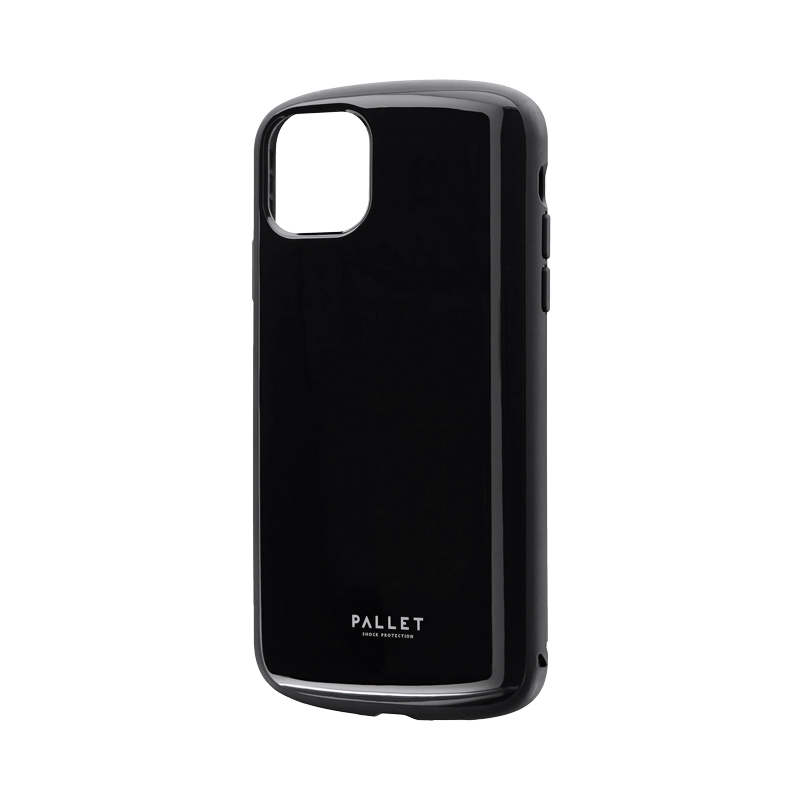 iPhone 11 Pro Max 超軽量・極薄・耐衝撃ハイブリッドケース「PALLET AIR」 ブラック