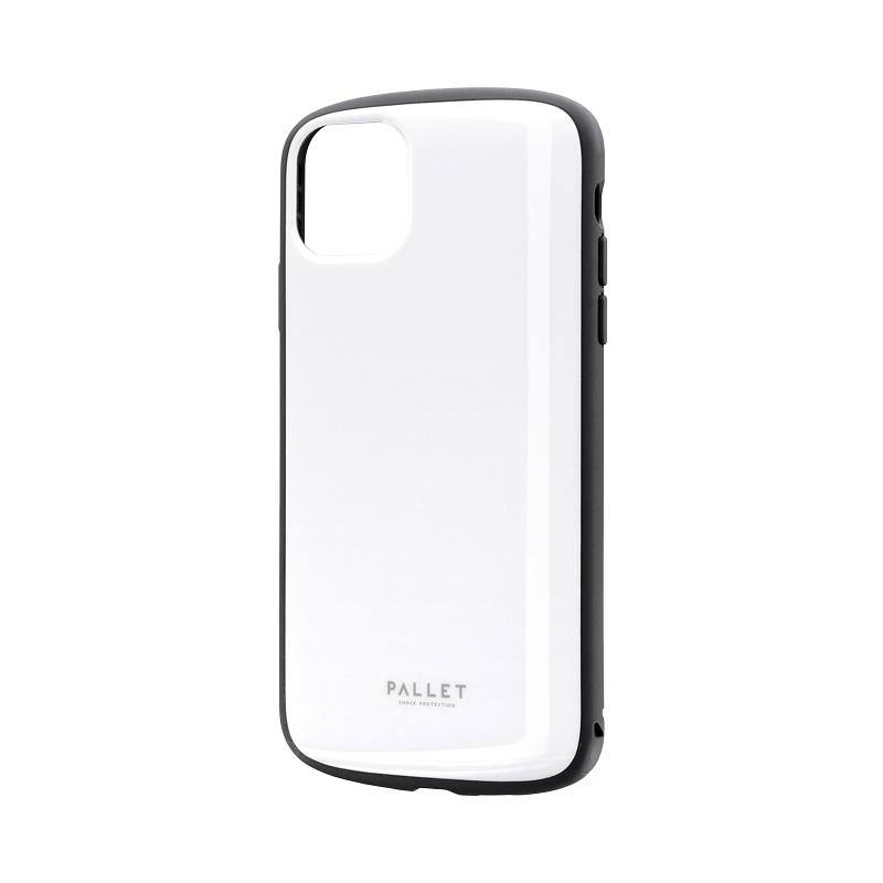 iPhone 11 Pro Max 超軽量・極薄・耐衝撃ハイブリッドケース「PALLET AIR」 ホワイト