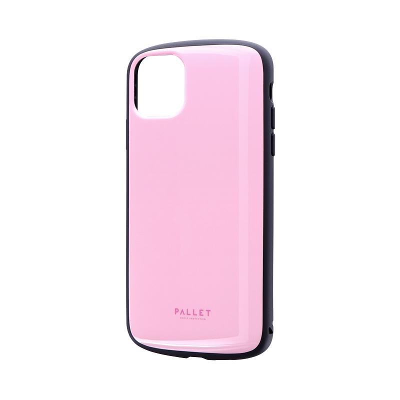iPhone 11 Pro Max 超軽量・極薄・耐衝撃ハイブリッドケース「PALLET AIR」 ピンク