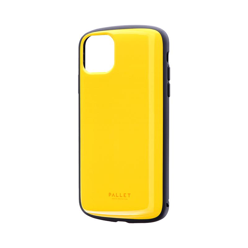 iPhone 11 Pro Max 超軽量・極薄・耐衝撃ハイブリッドケース「PALLET AIR」 イエロー