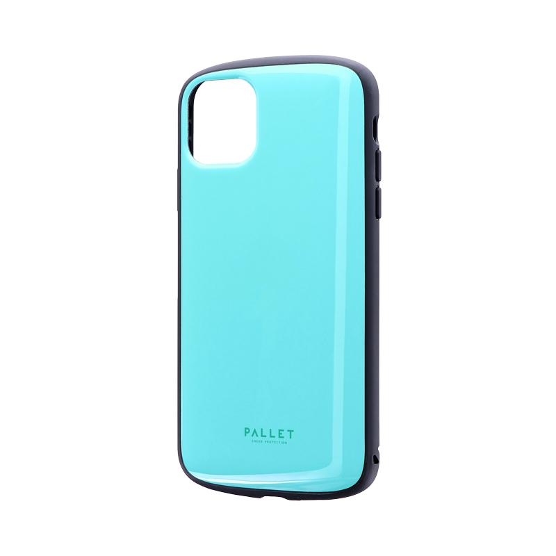 iPhone 11 Pro Max 超軽量・極薄・耐衝撃ハイブリッドケース「PALLET AIR」 ミントグリーン