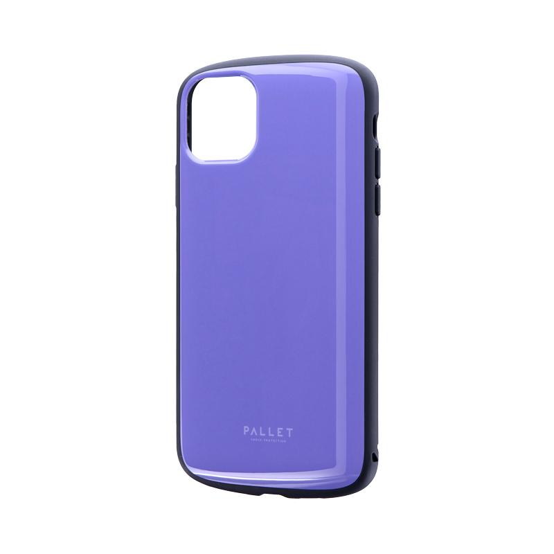 iPhone 11 Pro Max 超軽量・極薄・耐衝撃ハイブリッドケース「PALLET AIR」 パープル