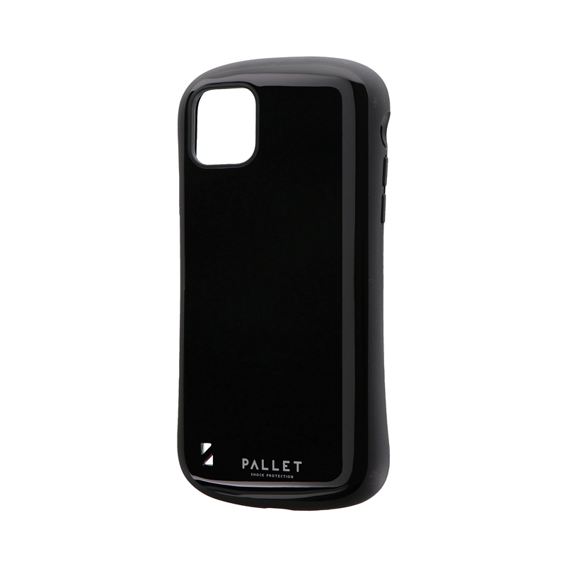 iPhone 11 Pro Max 耐衝撃ハイブリッドケース「PALLET」 ブラック