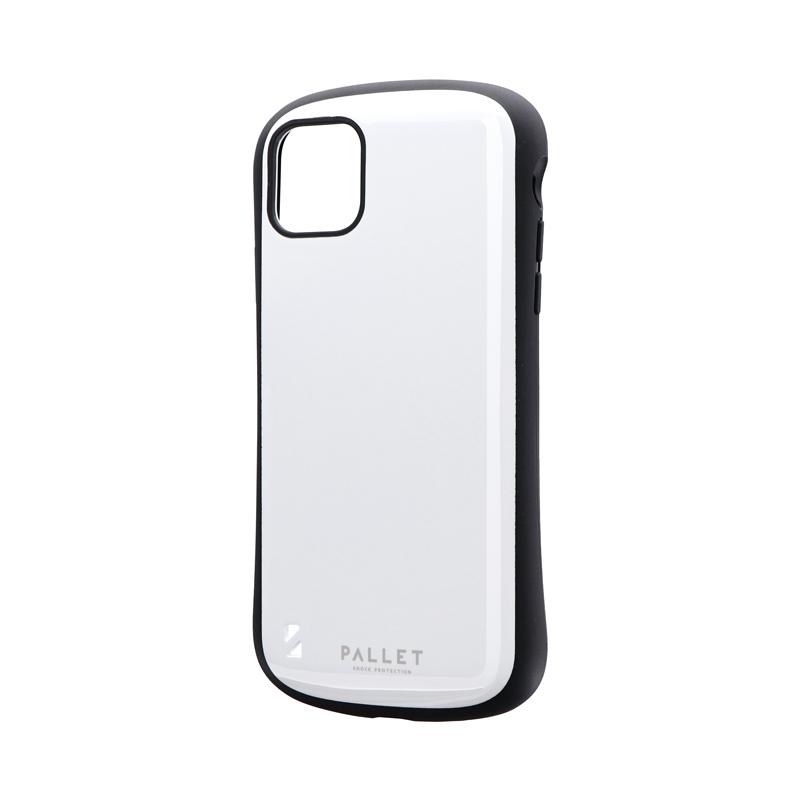 iPhone 11 Pro Max 耐衝撃ハイブリッドケース「PALLET」 ホワイト