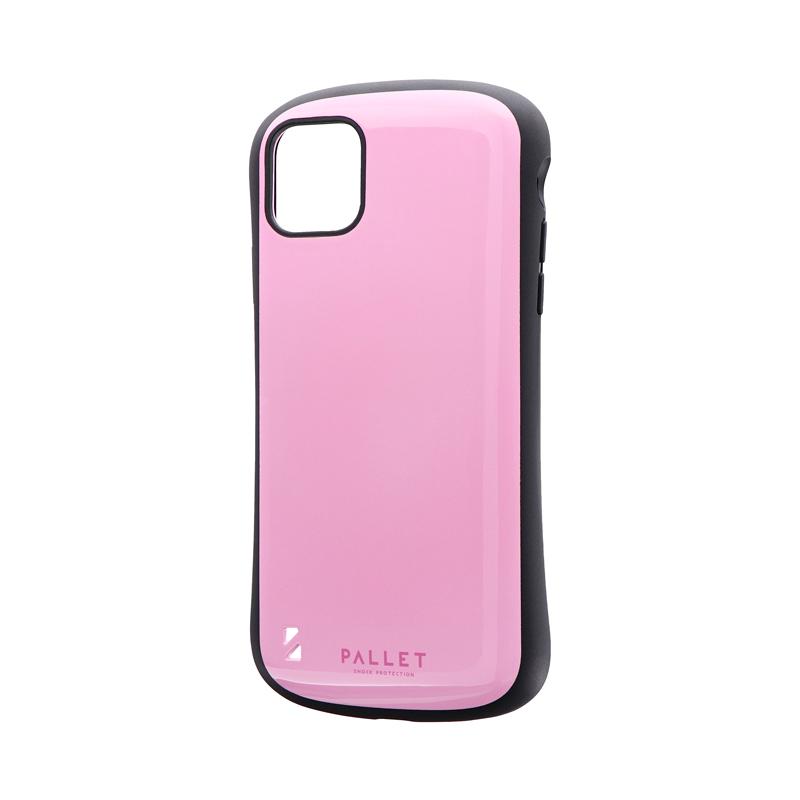 iPhone 11 Pro Max 耐衝撃ハイブリッドケース「PALLET」 ピンク