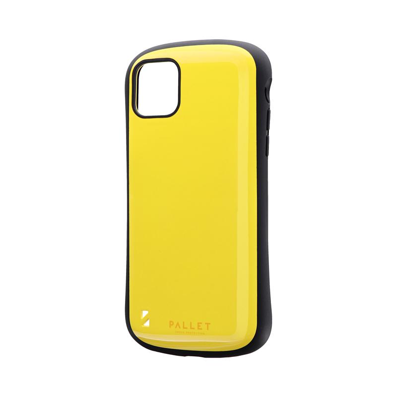iPhone 11 Pro Max 耐衝撃ハイブリッドケース「PALLET」 イエロー