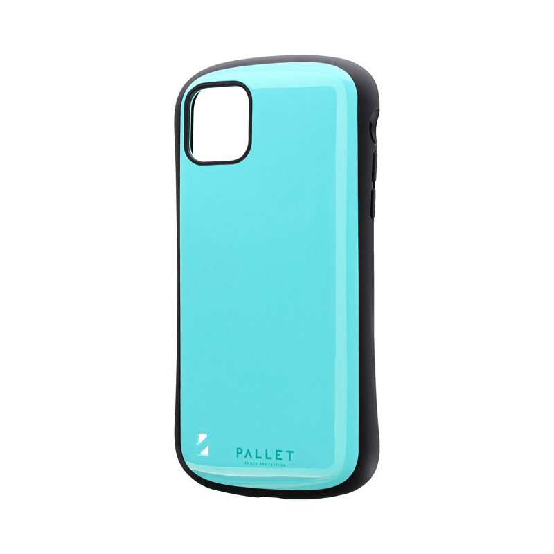iPhone 11 Pro Max 耐衝撃ハイブリッドケース「PALLET」 ミントグリーン