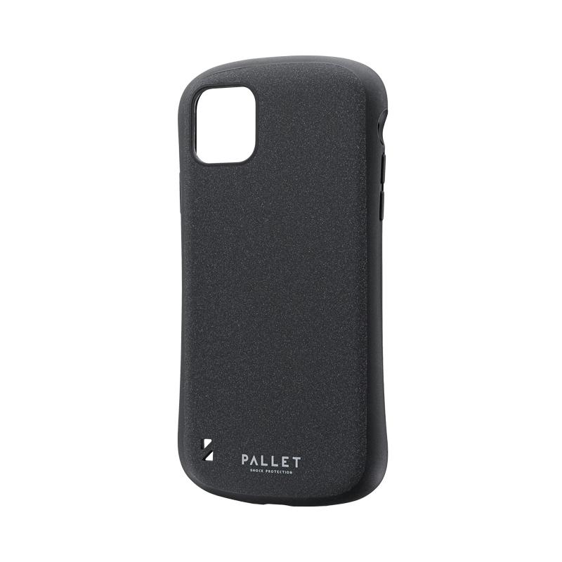 iPhone 11 Pro Max 超軽量・極薄・耐衝撃ハイブリッドケース「PALLET STEEL」 ダークグレー