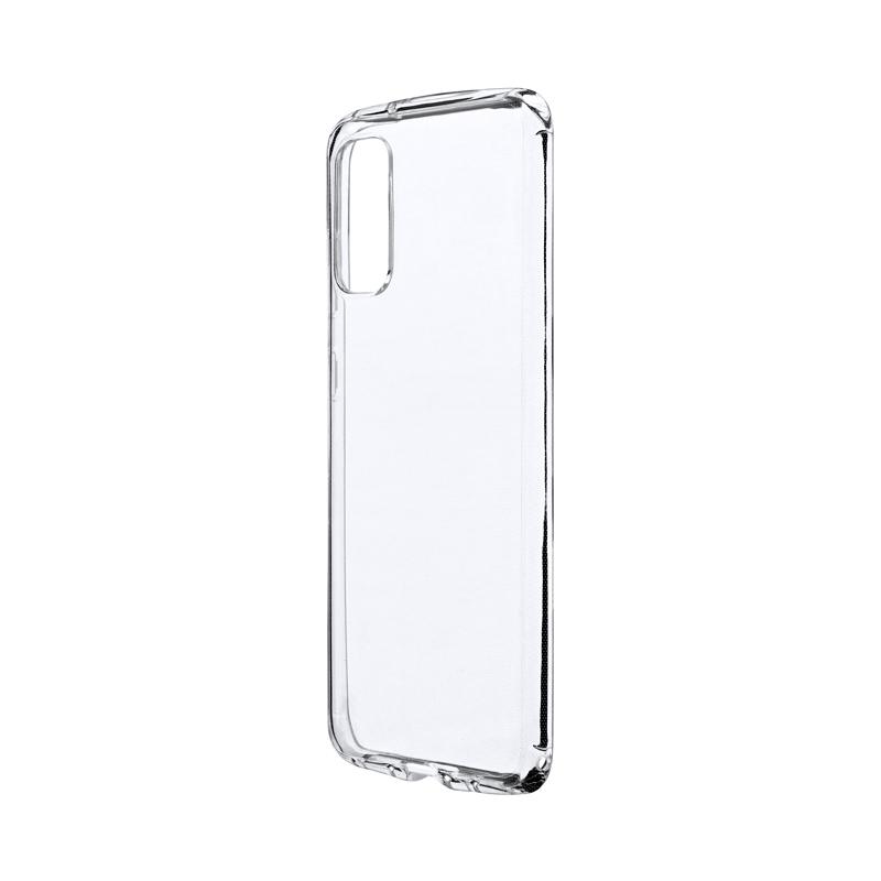 Galaxy S20 5G SC-51A/SCG01 耐衝撃ソフトケース「CLEAR ROUND」 クリア