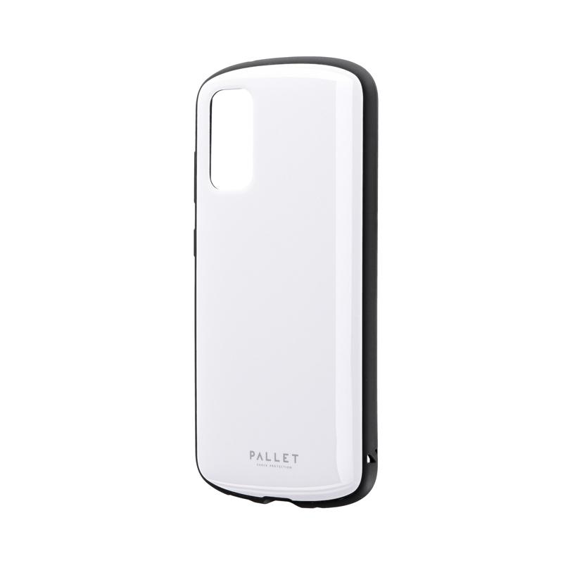 Galaxy S20 5G SC-51A/SCG01 耐衝撃ハイブリッドケース 「PALLET AIR」 ホワイト