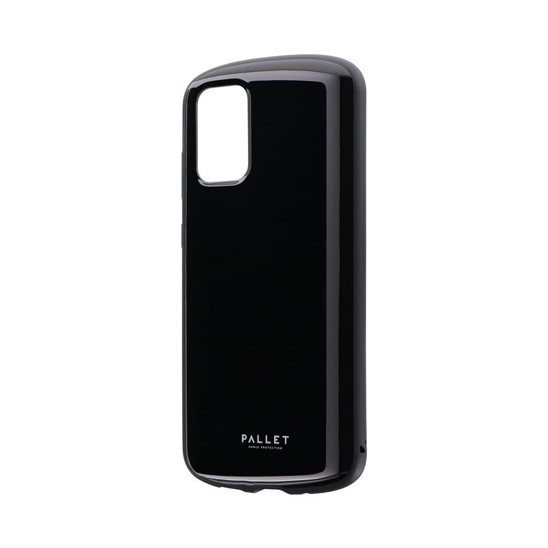 Galaxy S20+ 5G SC-52A/SCG02 耐衝撃ハイブリッドケース 「PALLET AIR」 ブラック