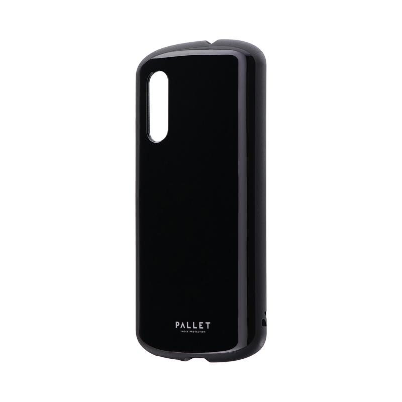Galaxy A41 SC-41A/SCV48 耐衝撃ハイブリッドケース 「PALLET AIR」 ブラック
