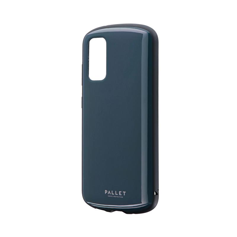 Galaxy S20 5G SC-51A/SCG01 耐衝撃ハイブリッドケース 「PALLET AIR」 ダークグレー