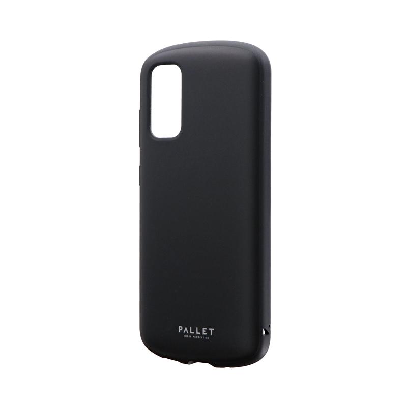 Galaxy S20 5G SC-51A/SCG01 耐衝撃ハイブリッドケース 「PALLET AIR」 マットブラック