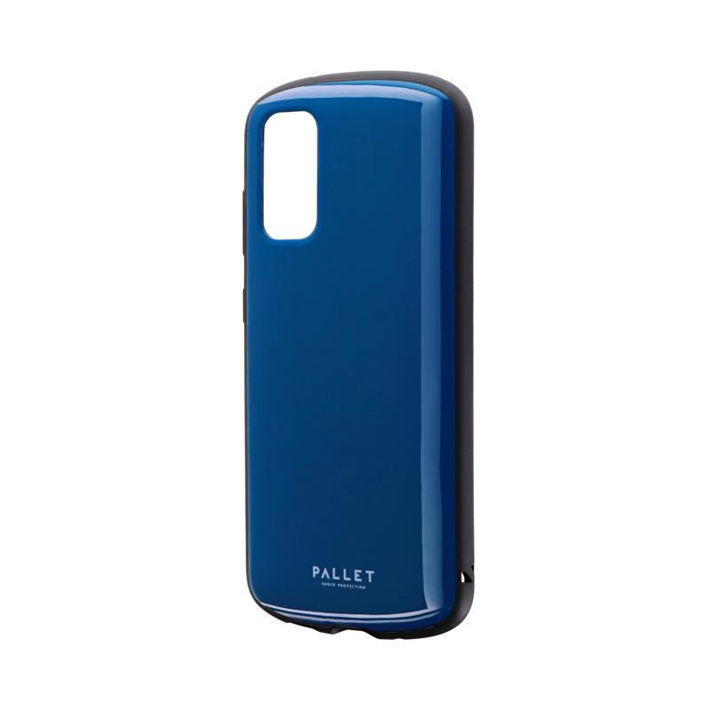 Galaxy S20 5G SC-51A/SCG01 耐衝撃ハイブリッドケース 「PALLET AIR」 ダークブルー