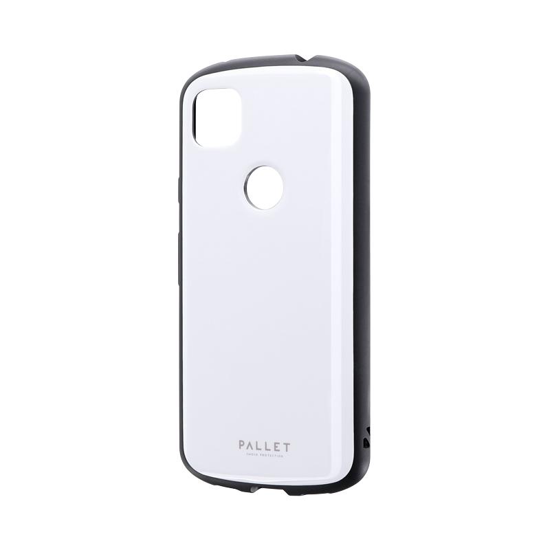 Pixel 4a 耐衝撃ハイブリッドケース 「PALLET AIR」 ホワイト
