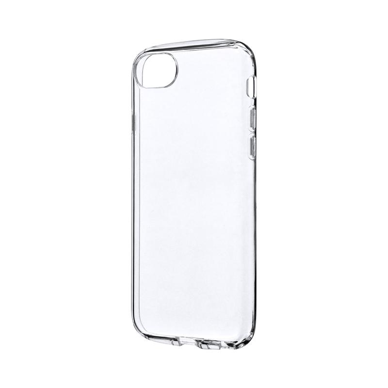 iPhone SE (第2世代)/8/7/6s/6 耐衝撃ソフトケース「CLEAR ROUND」 クリア