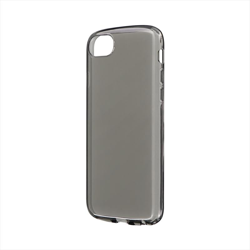 iPhone SE (第2世代)/8/7/6s/6 耐衝撃ソフトケース「CLEAR ROUND」 スモーク