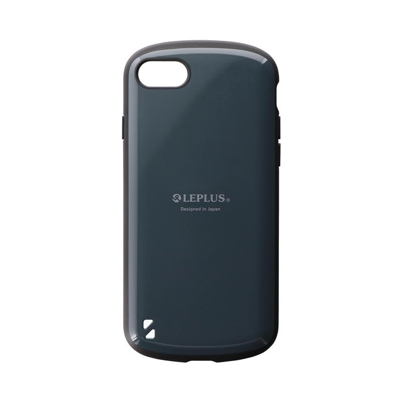 iPhone SE (第2世代)/8/7 耐衝撃ハイブリッドケース「PALLET」 ダークグレー