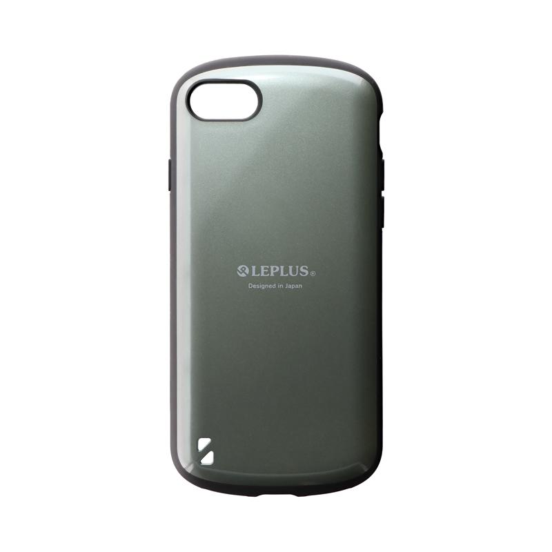 iPhone SE (第2世代)/8/7 耐衝撃ハイブリッドケース「PALLET」 ダークグリーン