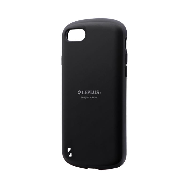 iPhone SE (第2世代)/8/7 耐衝撃ハイブリッドケース「PALLET」 マットブラック