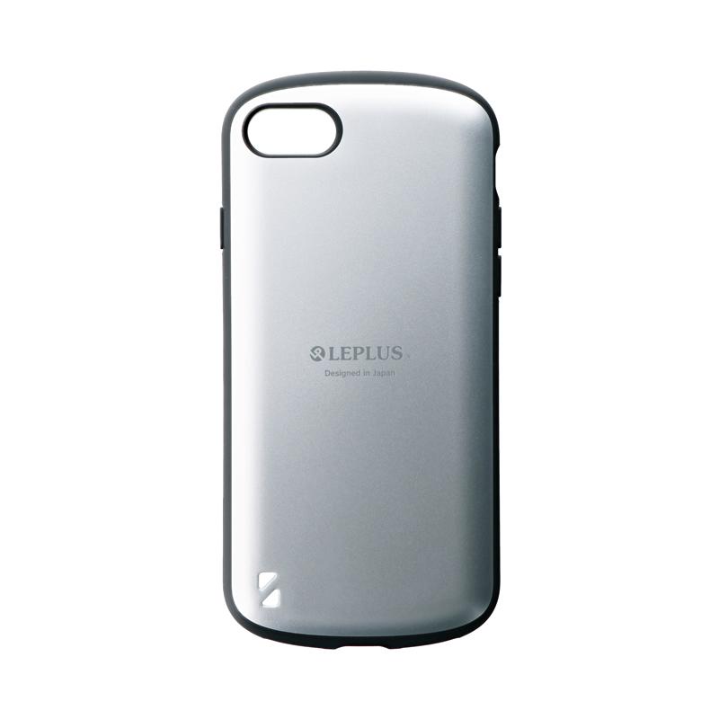 iPhone SE (第2世代)/8/7 耐衝撃ハイブリッドケース「PALLET」 マットシルバー