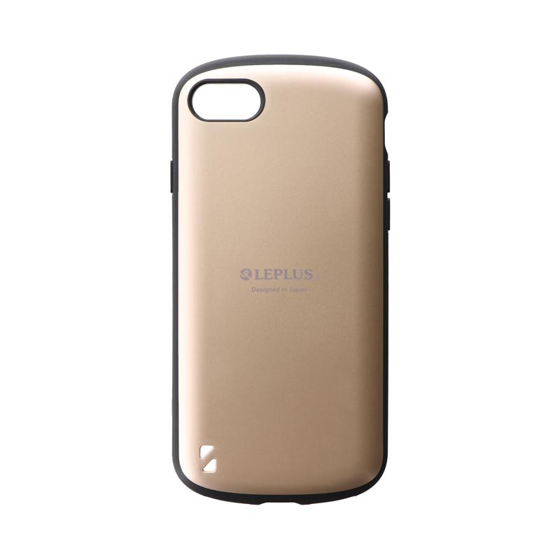 iPhone SE (第2世代)/8/7 耐衝撃ハイブリッドケース「PALLET」 マットゴールド