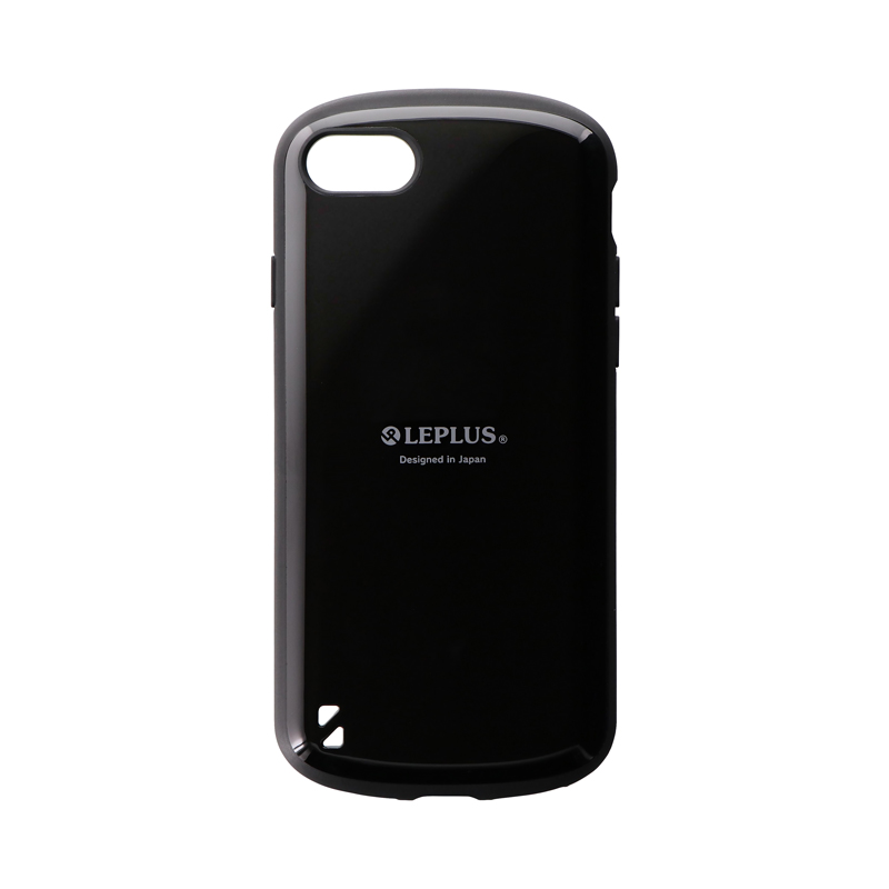 iPhone SE (第2世代)/8/7 耐衝撃ハイブリッドケース「PALLET」 ブラック